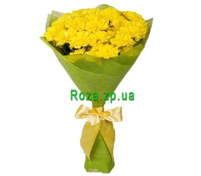 """""""Небольшой букет желтых хризантем"""" в интернет-магазине цветов roza.zp.ua"""