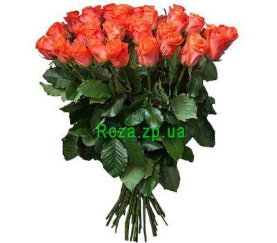 """""""Необычный букет оранжевых роз"""" в интернет-магазине цветов roza.zp.ua"""