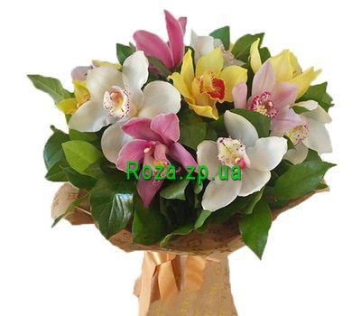 """""""Разноцветные орхидеи"""" в интернет-магазине цветов roza.zp.ua"""