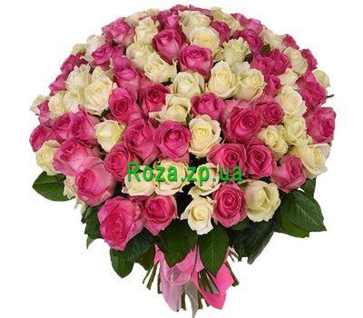 """""""Шикарный букет из 101 розы"""" в интернет-магазине цветов roza.zp.ua"""