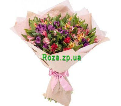 """""""Симпатичный букет альстромерий"""" в интернет-магазине цветов roza.zp.ua"""
