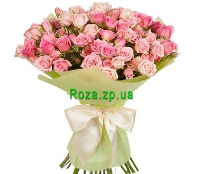 """""""Удивительно нежный букет роз"""" в интернет-магазине цветов roza.zp.ua"""