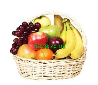 """""""Вкусная фруктовая корзина"""" в интернет-магазине цветов roza.zp.ua"""