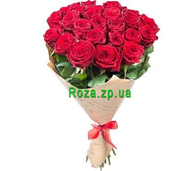 """25 red roses"" in the online flower shop roza.zp.ua"