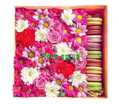 """""""Цветы в коробке flower box"""" в интернет-магазине цветов roza.zp.ua"""