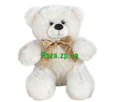 """""""Мягкая игрушка Белый мишка"""" в интернет-магазине цветов roza.zp.ua"""