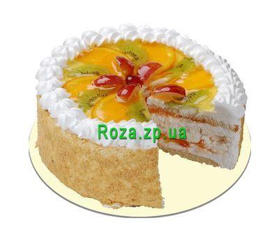 """""""Фруктовый торт"""" в интернет-магазине цветов roza.zp.ua"""