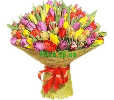 """""""Букет из 151 тюльпана"""" в интернет-магазине цветов roza.zp.ua"""