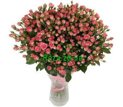 """""""51 розовая кустовая роза"""" в интернет-магазине цветов roza.zp.ua"""