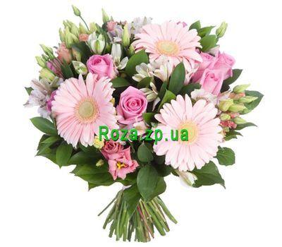 """""""Красивый букет в нежных тонах"""" в интернет-магазине цветов roza.zp.ua"""