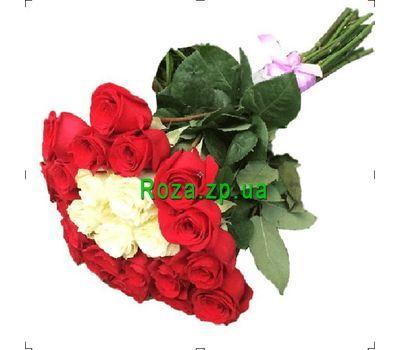 """""""Красивый букет из импортных роз"""" в интернет-магазине цветов roza.zp.ua"""