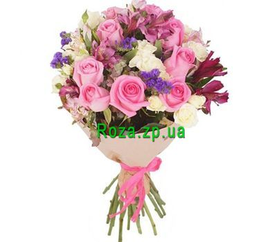"""Lovely bouquet of flowers"" in the online flower shop roza.zp.ua"