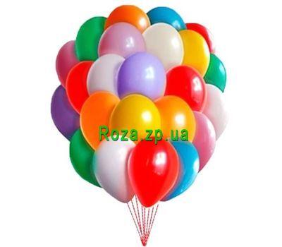 """""""25 воздушных шаров"""" в интернет-магазине цветов roza.zp.ua"""