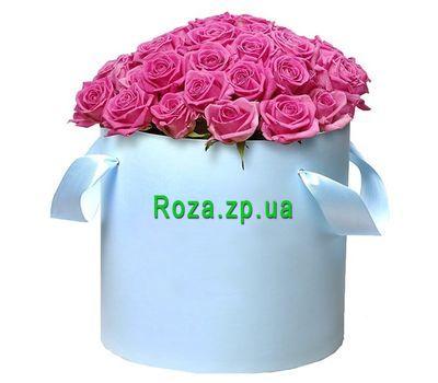 """""""51 розовая роза в коробке"""" в интернет-магазине цветов roza.zp.ua"""