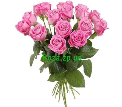 """""""Bouquet of a girl on the 17th anniversary"""" in the online flower shop roza.zp.ua"""