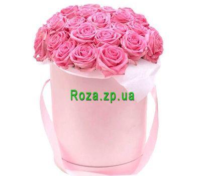 """""""Коробка из розовых роз на подарок"""" в интернет-магазине цветов roza.zp.ua"""
