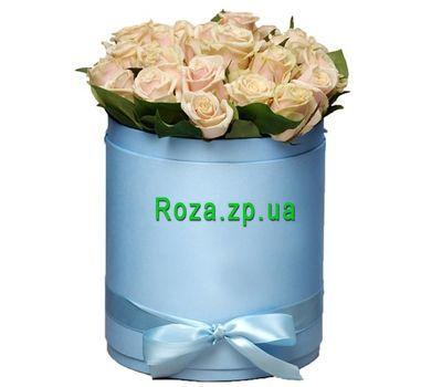 """""""Коробочка кремовых роз"""" в интернет-магазине цветов roza.zp.ua"""