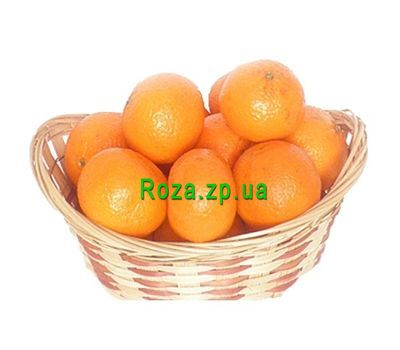 """Basket of tangerines"" in the online flower shop roza.zp.ua"