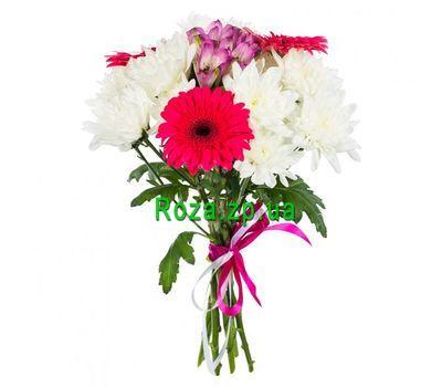 """""""Лаконичный букет цветов"""" в интернет-магазине цветов roza.zp.ua"""