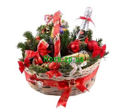 """""""Новогодняя корзина сладостей"""" в интернет-магазине цветов roza.zp.ua"""