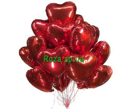 """""""Облако из фольгированных шаров"""" в интернет-магазине цветов roza.zp.ua"""