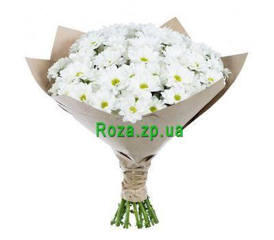 """""""Bouquet of 11 chamomile chrysanthemums"""" in the online flower shop roza.zp.ua"""