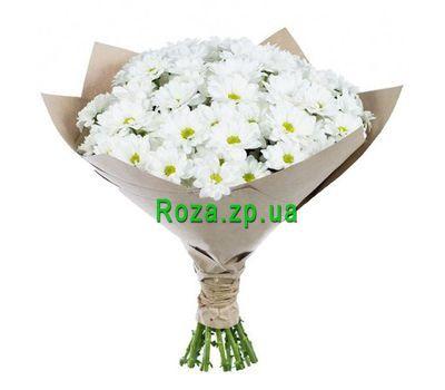 """""""Букет з 11 ромашкових хризантем"""" в интернет-магазине цветов roza.zp.ua"""
