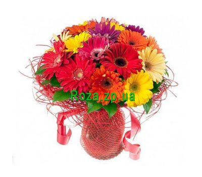 """Bouquet of 19 gerberas"" in the online flower shop roza.zp.ua"