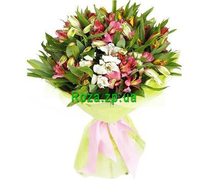 """Bouquet of 25 alstromeries"" in the online flower shop roza.zp.ua"