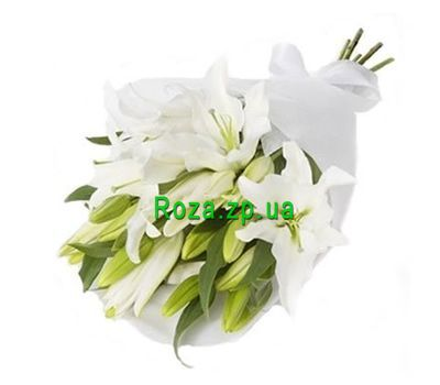 """Bouquet of 5 lilies"" in the online flower shop roza.zp.ua"
