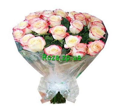 """Bouquet of 35 imported roses"" in the online flower shop roza.zp.ua"