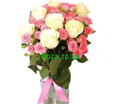"""""""Букет из 15 роз"""" в интернет-магазине цветов roza.zp.ua"""