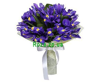 """Bouquet of 15 irises"" in the online flower shop roza.zp.ua"