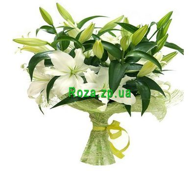 """Bouquet of 7 lilies"" in the online flower shop roza.zp.ua"