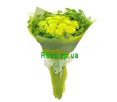 """""""Букет из 15 желтых роз"""" в интернет-магазине цветов roza.zp.ua"""