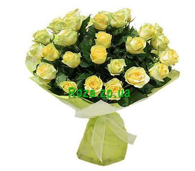 """Bouquet of flowers from 31 yellow roses"" in the online flower shop roza.zp.ua"