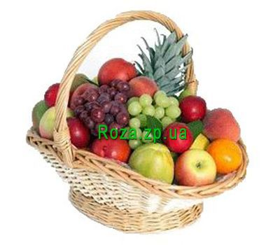 """Fruit basket. Weight 5-6 kg."" in the online flower shop roza.zp.ua"