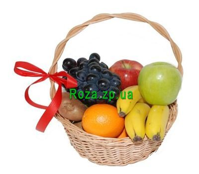 """Fruit basket. Weight 2-3 kg"" in the online flower shop roza.zp.ua"