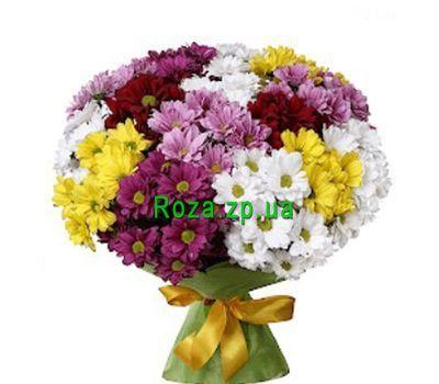 """""""Букет из 17 хризантем"""" в интернет-магазине цветов roza.zp.ua"""