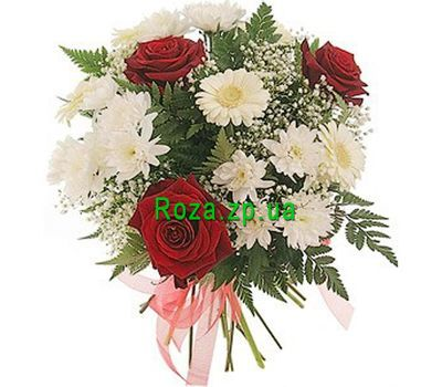 """Inexpensive bouquet of flowers"" in the online flower shop roza.zp.ua"