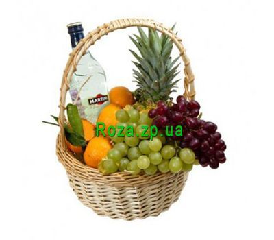 """New Year''s basket"" in the online flower shop roza.zp.ua"
