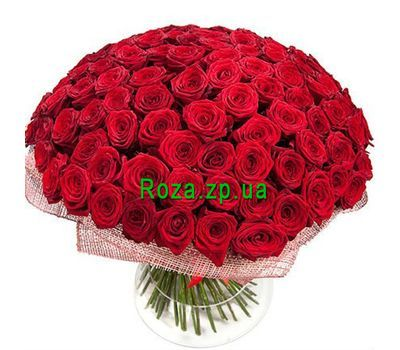 """Bouquet of 151 red roses"" in the online flower shop roza.zp.ua"