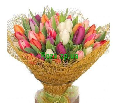 """""""Букет из 85 тюльпанов"""" в интернет-магазине цветов roza.zp.ua"""
