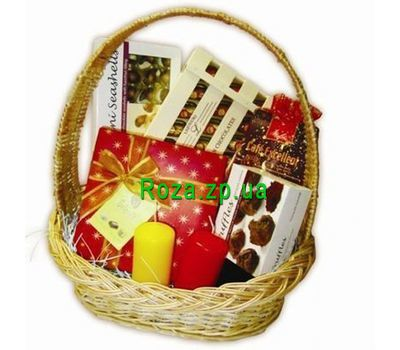 """""""Basket of sweets"""" in the online flower shop roza.zp.ua"""