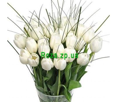 """Bouquet of 35 Tulips"" in the online flower shop roza.zp.ua"